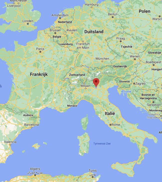 Gardameer kaart | Italië kaart