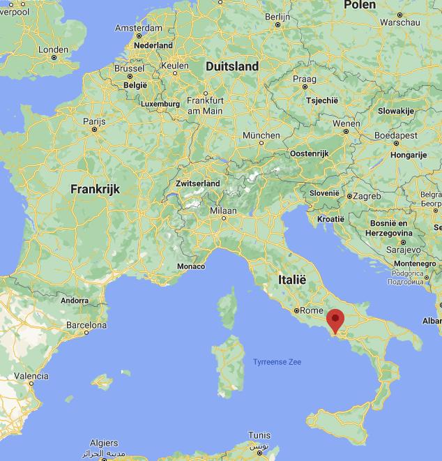 Napels kaart | Italië kaart