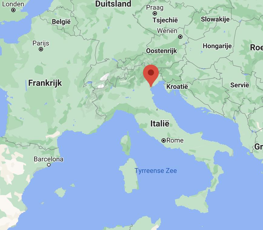 Venetië kaart | Italië kaart